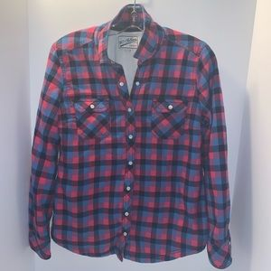 Lined woman's flannel shirt  - BC Clothing